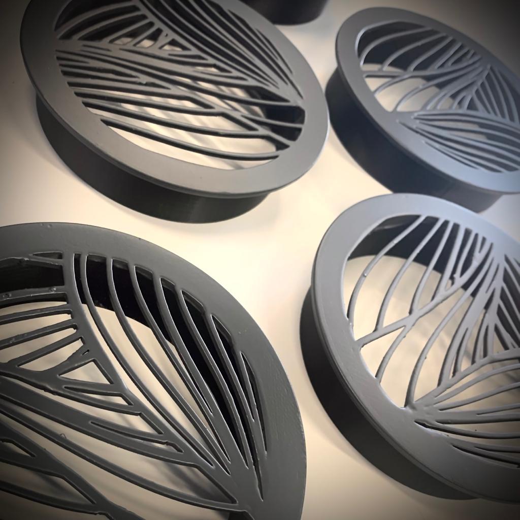 Organische Luftgitter aus dem 3D Drucker