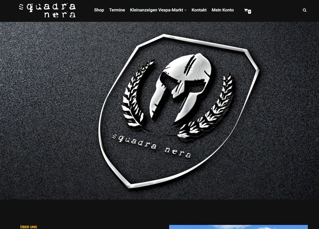 Neue Website für Squadra Nera Wien